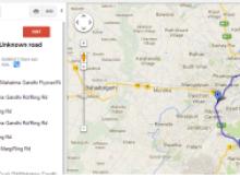 Upload KML file on Google map