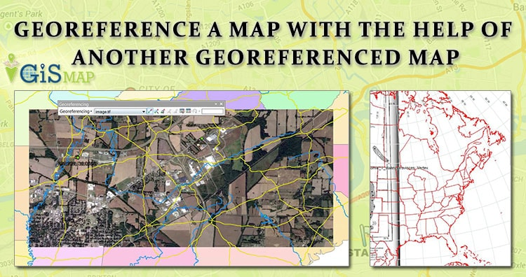 Georeference a map with the help of another georeferenced map