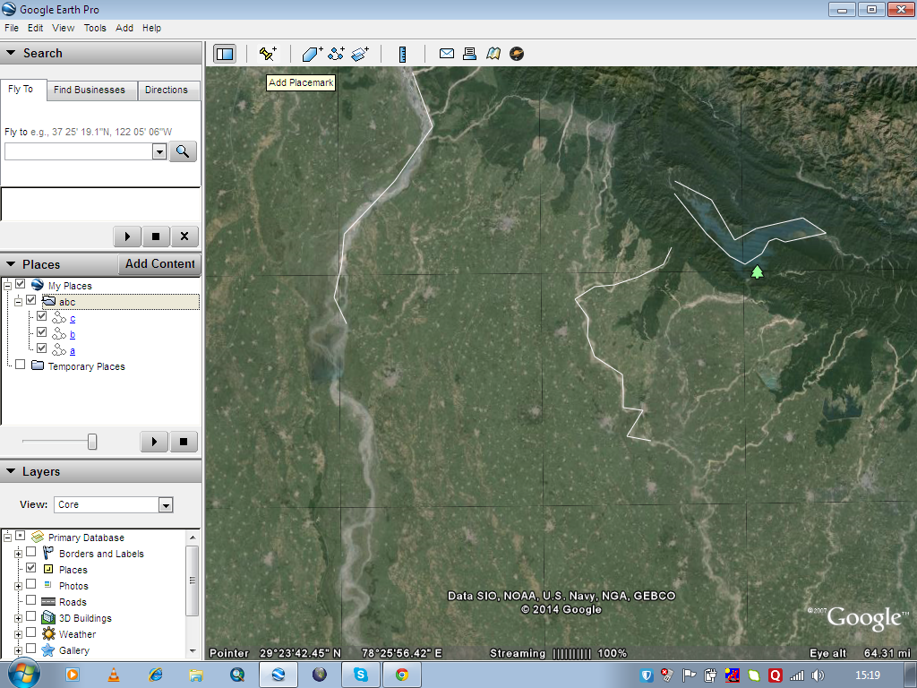 Create save digitize and download kml or kmz from Google Earth - GIS