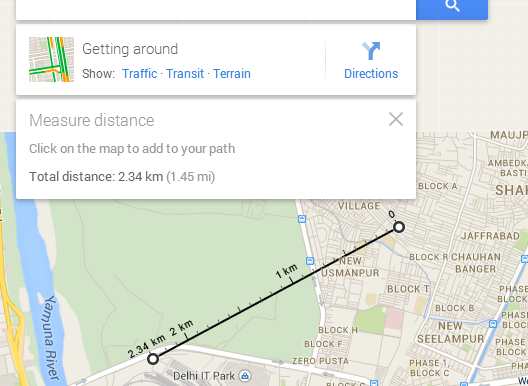 Straight Line Distance Map Measure Straight line distance in Google Map   GIS MAP INFO Straight Line Distance Map