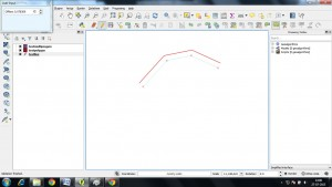 29 - Offset Curve Tool - Digitization in QGIS - Exploring tools for Digitizing