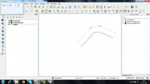 30 - Offset Curve Tool - Digitization in QGIS - Exploring tools for Digitizing