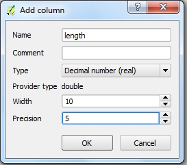 Select and calculate area, length and perimeters of features