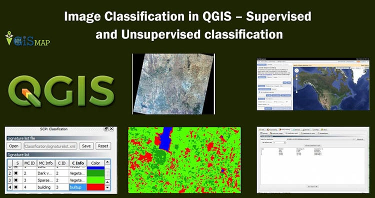 Image Classification in QGIS - Supervised and Unsupervised