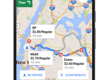 Google Map track Near By Gas Station and Current Prices – Android and iOS App