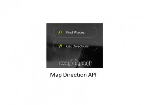 MapQuest Map Direction API