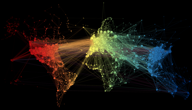 FLIGHT ROUTES NETWORK ANALYSIS