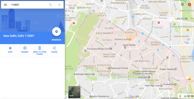 Get County, postal address, administrative area On Google Maps