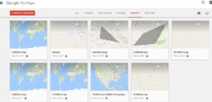 Customized Maps with My Maps Feature of Google Maps