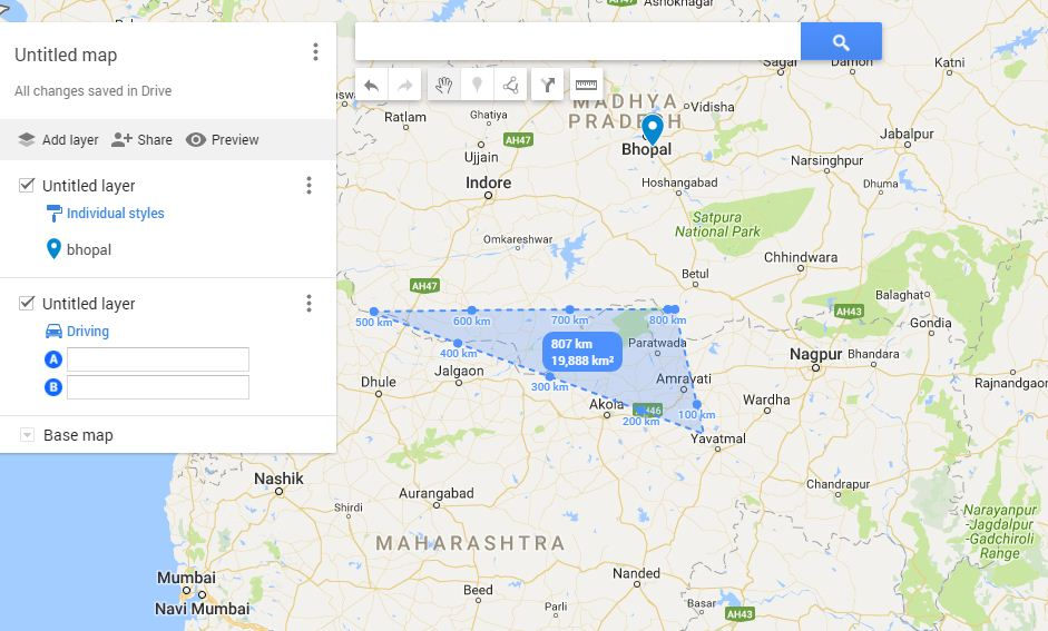 Create Customized Maps With Google Maps My Map Feature GIS MAP INFO - My address google maps