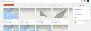 customized maps of google maps