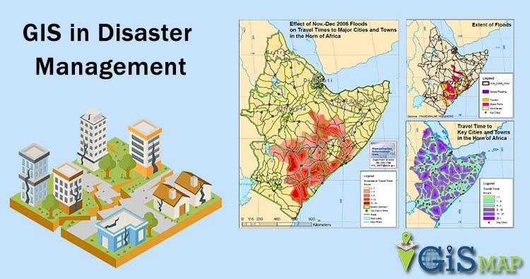 GIS in Disaster Management - GIS MAP INFO Disaster Map on
