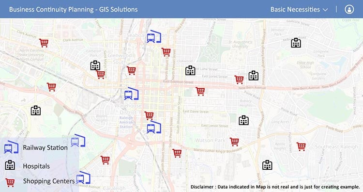 Necessities - Business Continuity Planning -GIS solutions
