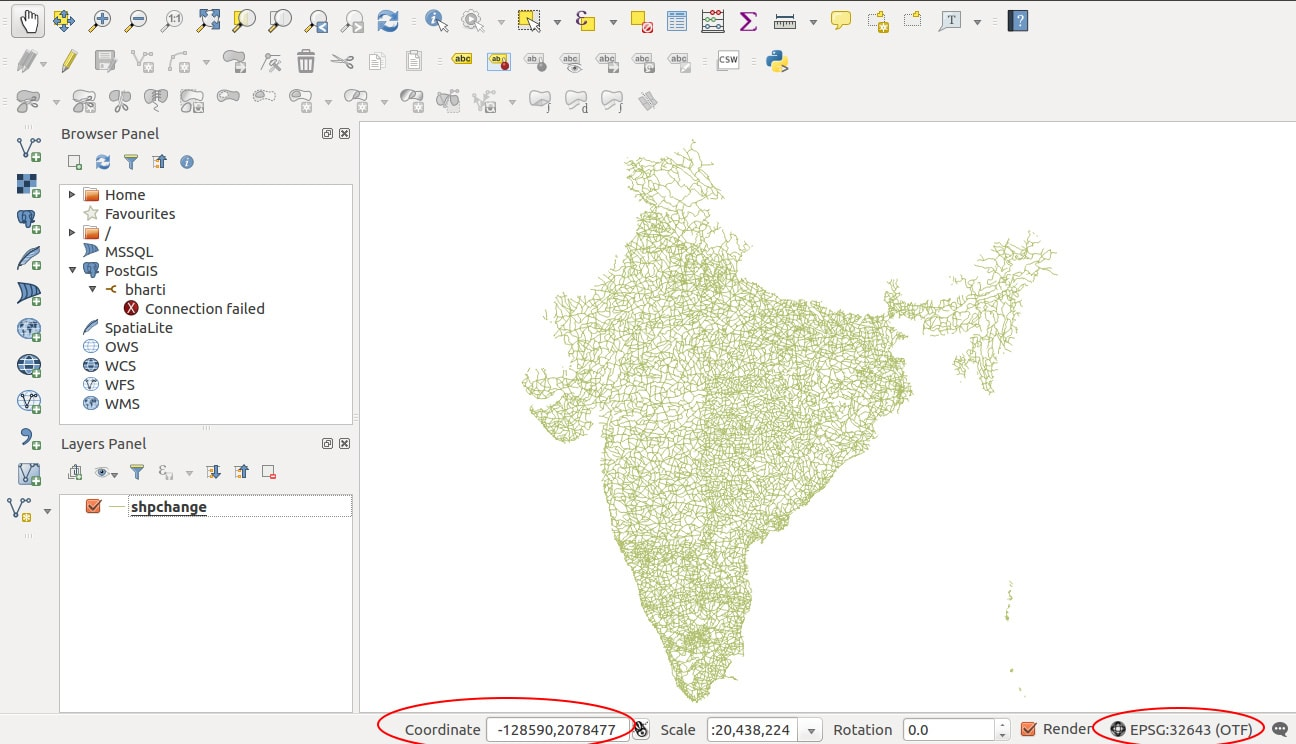 how to add a shapefile to qgis