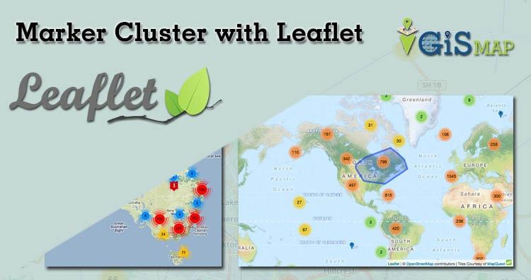 Marker Cluster With Leaflet