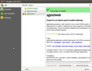 QGIS2Web - Create Web Maps - GIS MAP INFO