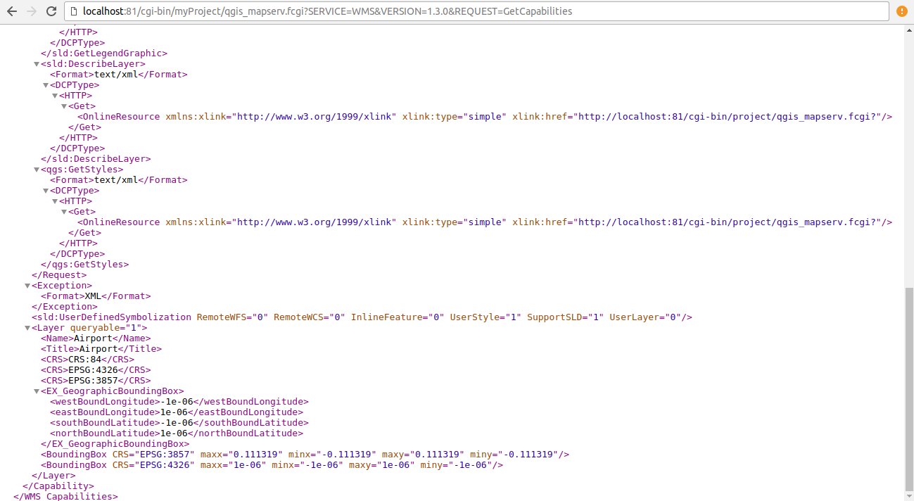 QGIS Server Installation