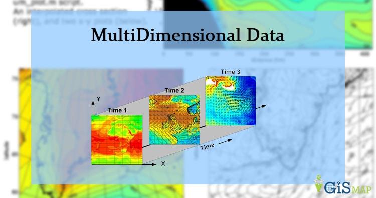 MultiDimensional Data – NetCDF, GRIB, HDF Format