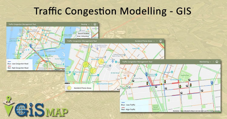 Traffic Congestion Modelling – GIS