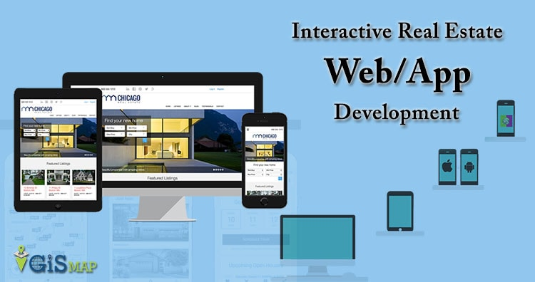 Interactive Real Estate Web/App Development – Cost, Time – GIS Tool