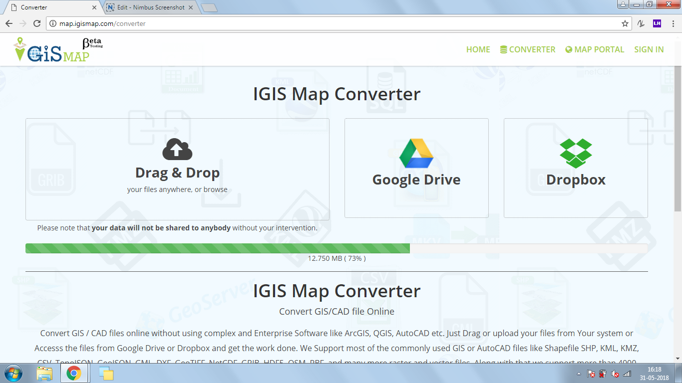 KML to DXF Convert - GIS MAP INFO