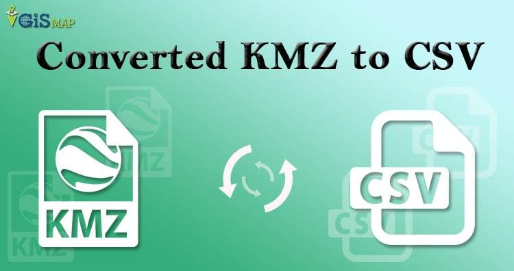 Convert KMZ to CSV