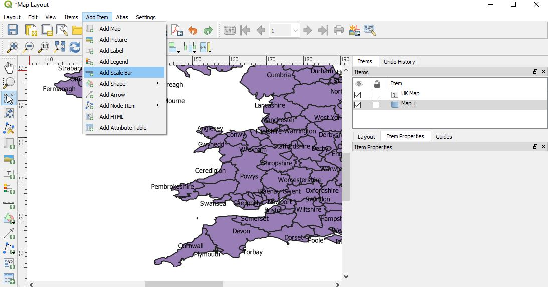 QGIS 3.2.1- Download/export map in PDF, SVG, Image
