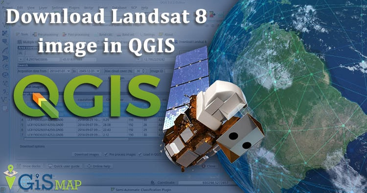 Download Landsat 8 Images in QGIS 3.4.4