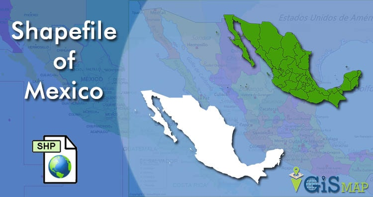 Download Mexico Shapefile free – Boundary line, Polygon