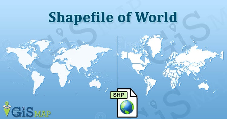 Download World Shapefile free - Country Borders, Continents
