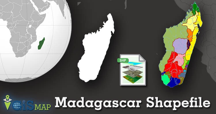 Download Madagascar Shapefile – administrative boundary, provinces shapefile