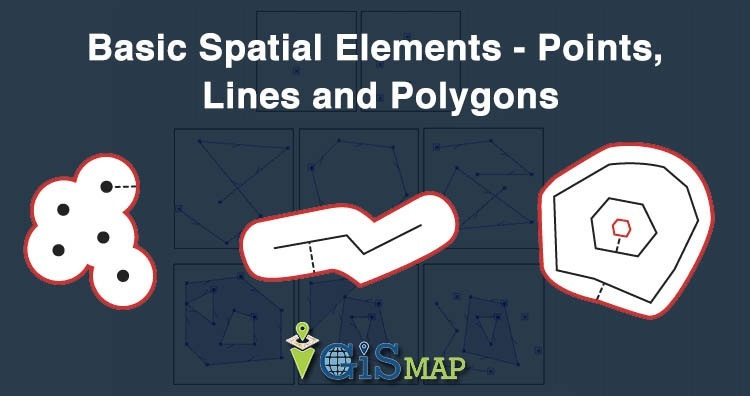 GIS Tutorial - Basic Spatial Elements - Points, Lines and Polygons