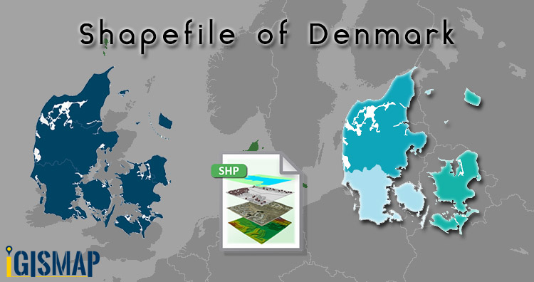 Download Shapefile of Denmark – Country boundary, Polygon