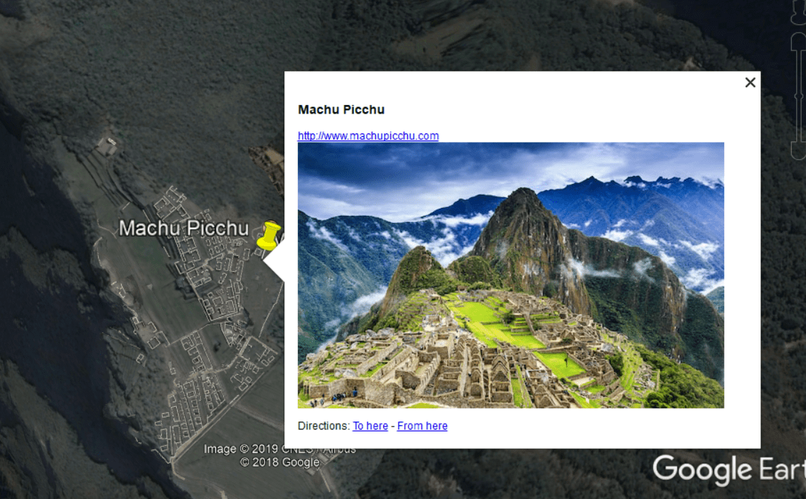 Create a tour or video in Google Earth Pro