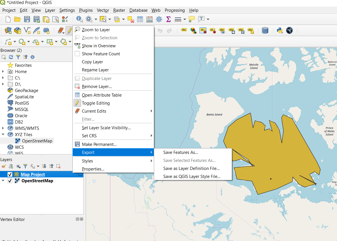 QGIS 3.4.4 tutorial : Creating, Editing and Mapping in GIS