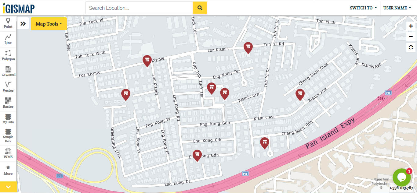 Embed map Store/Shop location on website - Google Map Alternative