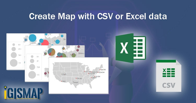 reate Map with CSV or Excel data