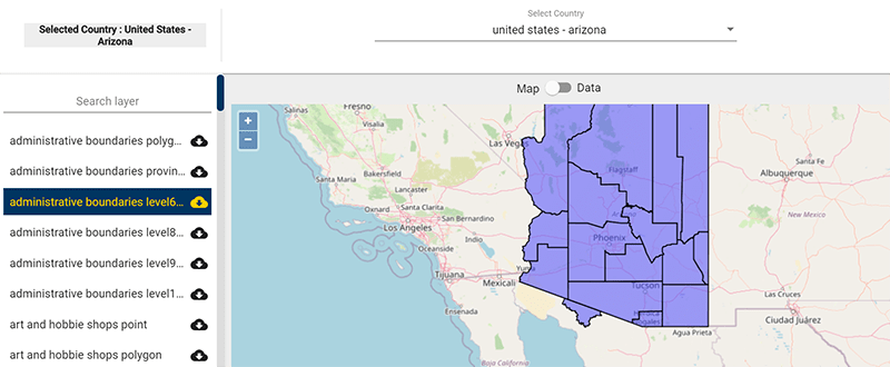 Arizona County GIS Data