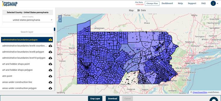 Pennsylvania gis maps