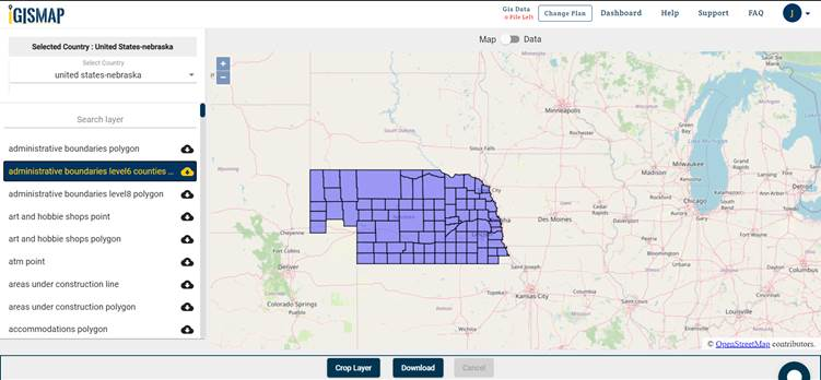 Nebraska State Gis Maps
