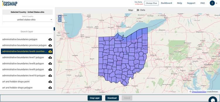 Ohio GIS Maps